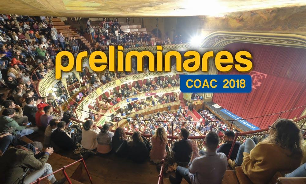 preliminares coac 2018