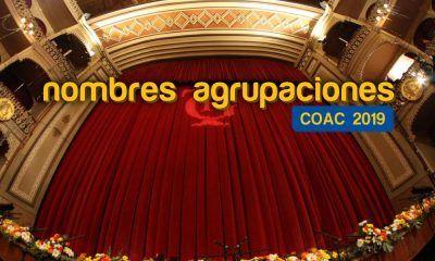nombres agrupaciones coac 2019