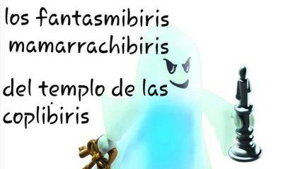 chirigota Los fantasmibiris mamarrachibiris del templo de las coplibiris