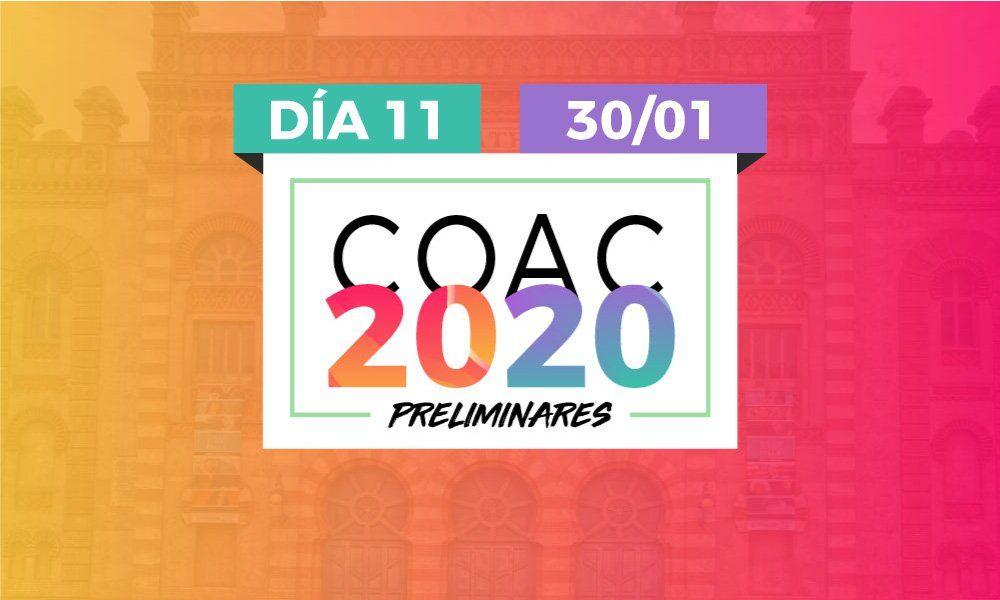 preliminares coac 2020 dia 11