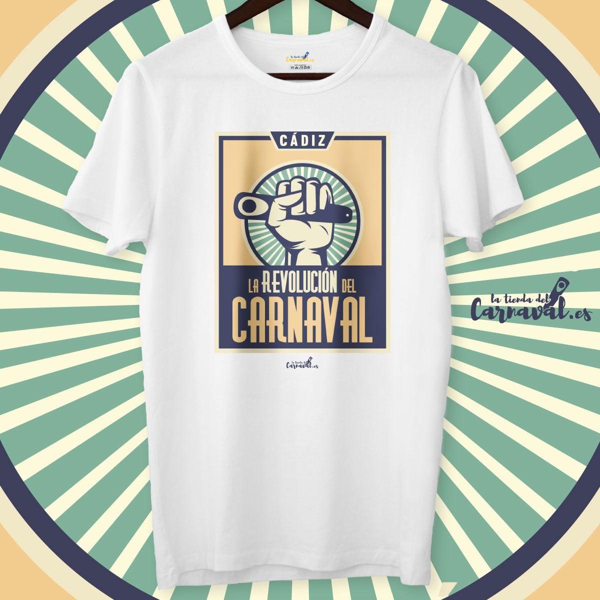 camiseta la revolucion del carnaval